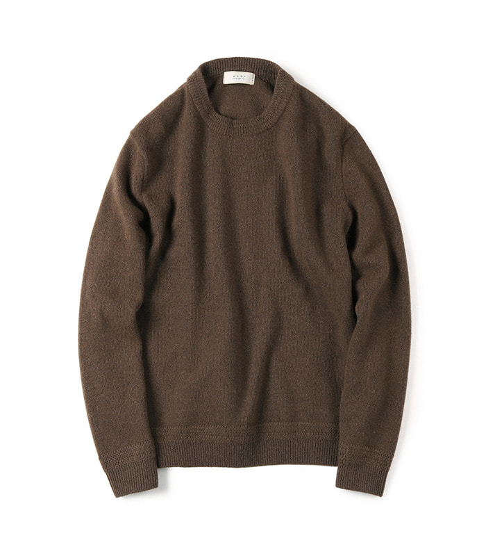 셔터 TASMANIA WOOL CASHMERE KNIT_Brown