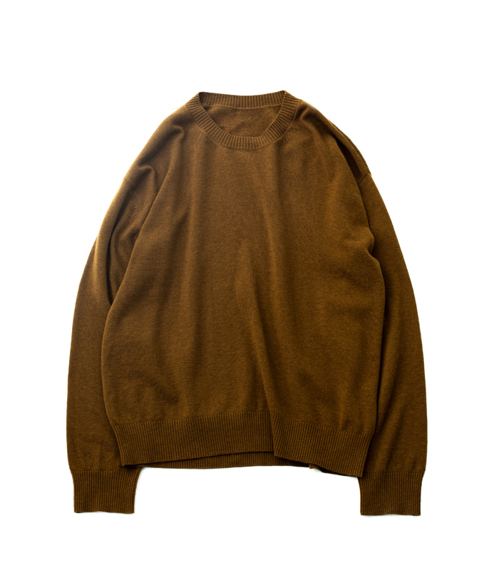 브라운야드 Crewneck Knit_Brown
