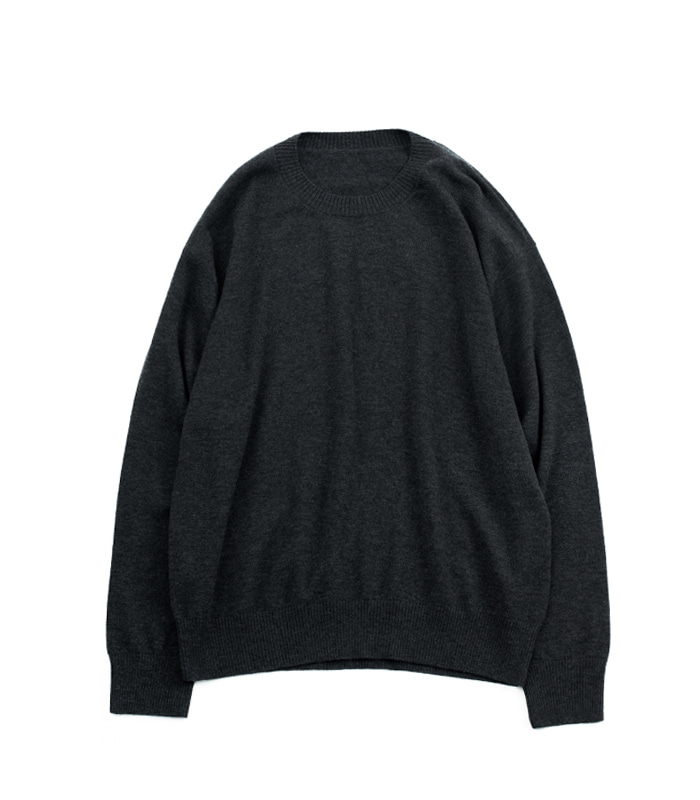 브라운야드 Crewneck Knit_Grey