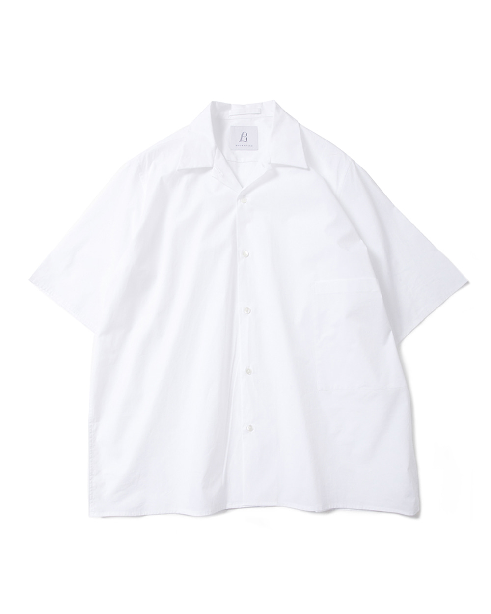 브라운야드 Convertible Shirts (White)