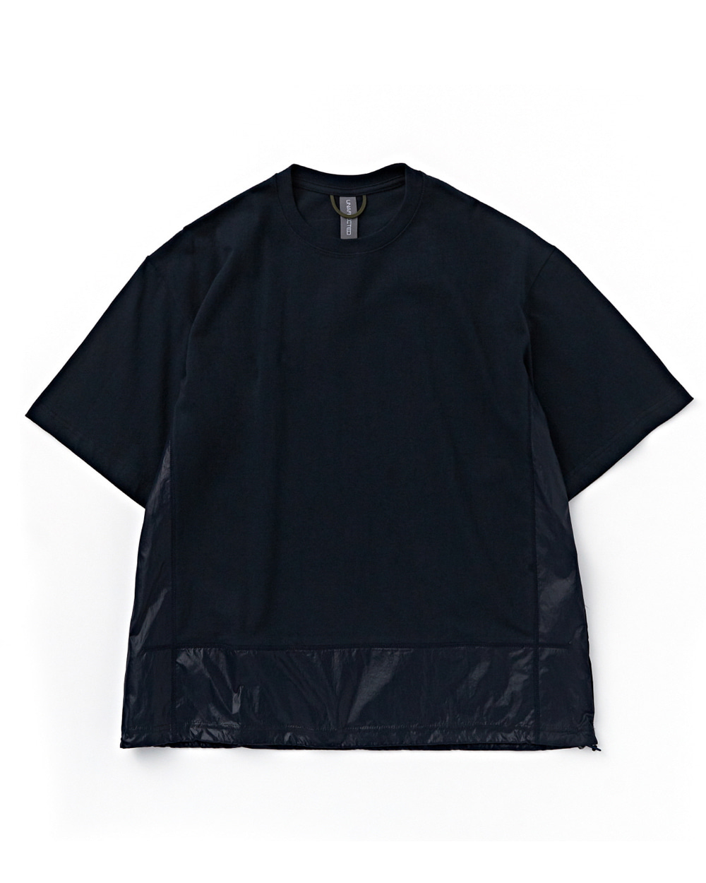 언어펙티드 CONTRAST PANEL T-SHIRT (Navy)
