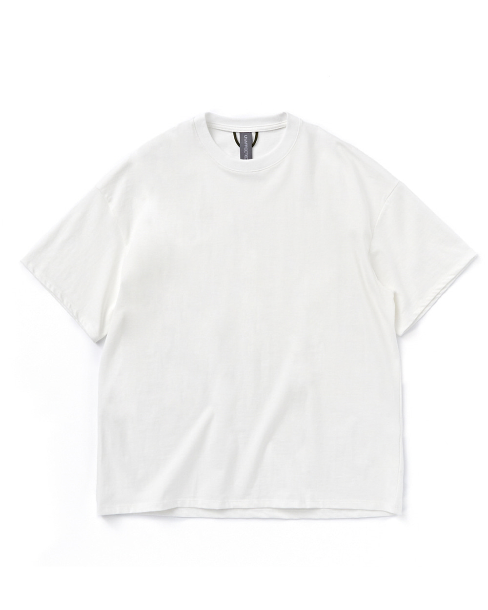 언어펙티드 LOGO LABEL T-SHIRT (White)