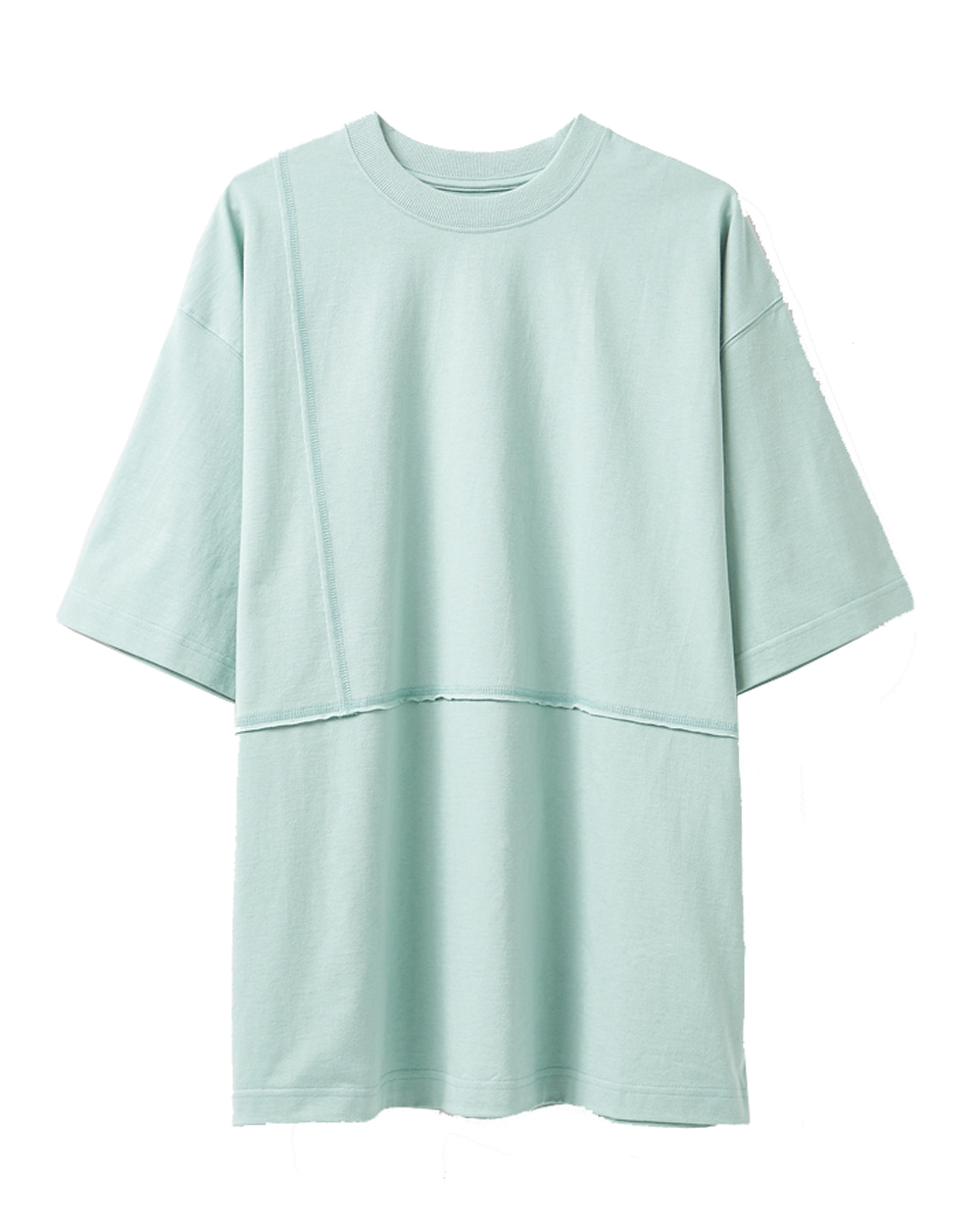 유스 Cut-off T-shirt (Mint)