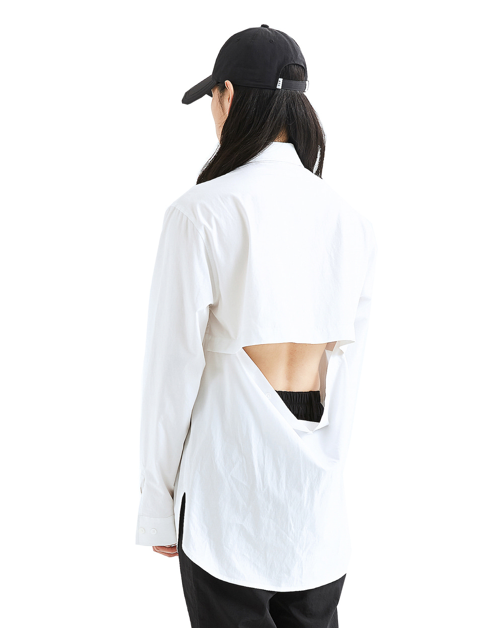 ATE STUDIO MULTI OPEN SHIRTS VER.YOKE (White)