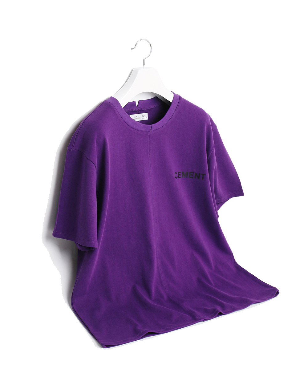 ATE STUDIOS CENMENT PRINTED T-SHIRTS (Purple)