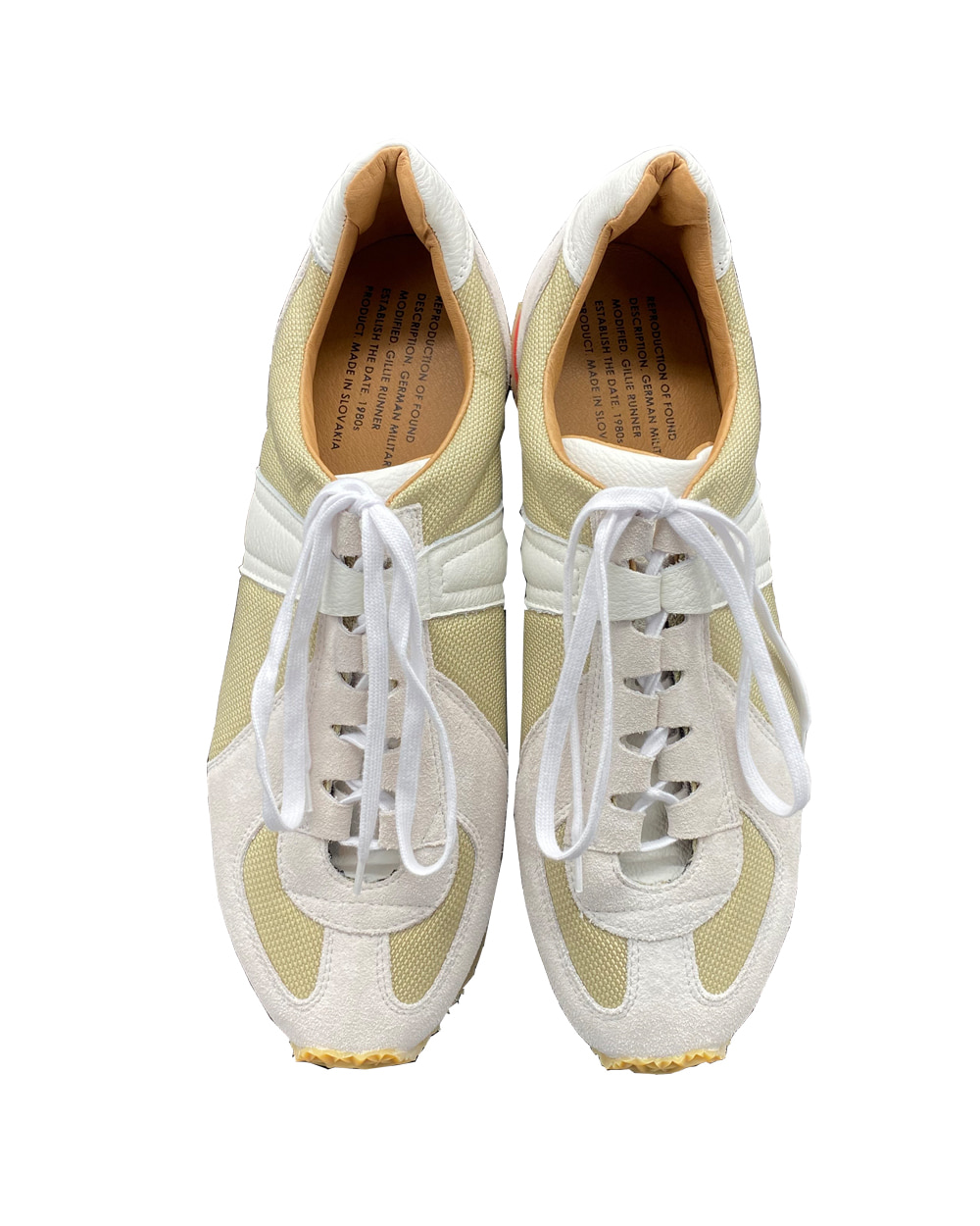 리프로덕션 오브 파운드 GERMAN MILITARY TRAINER 1766CSL (Beige/White)