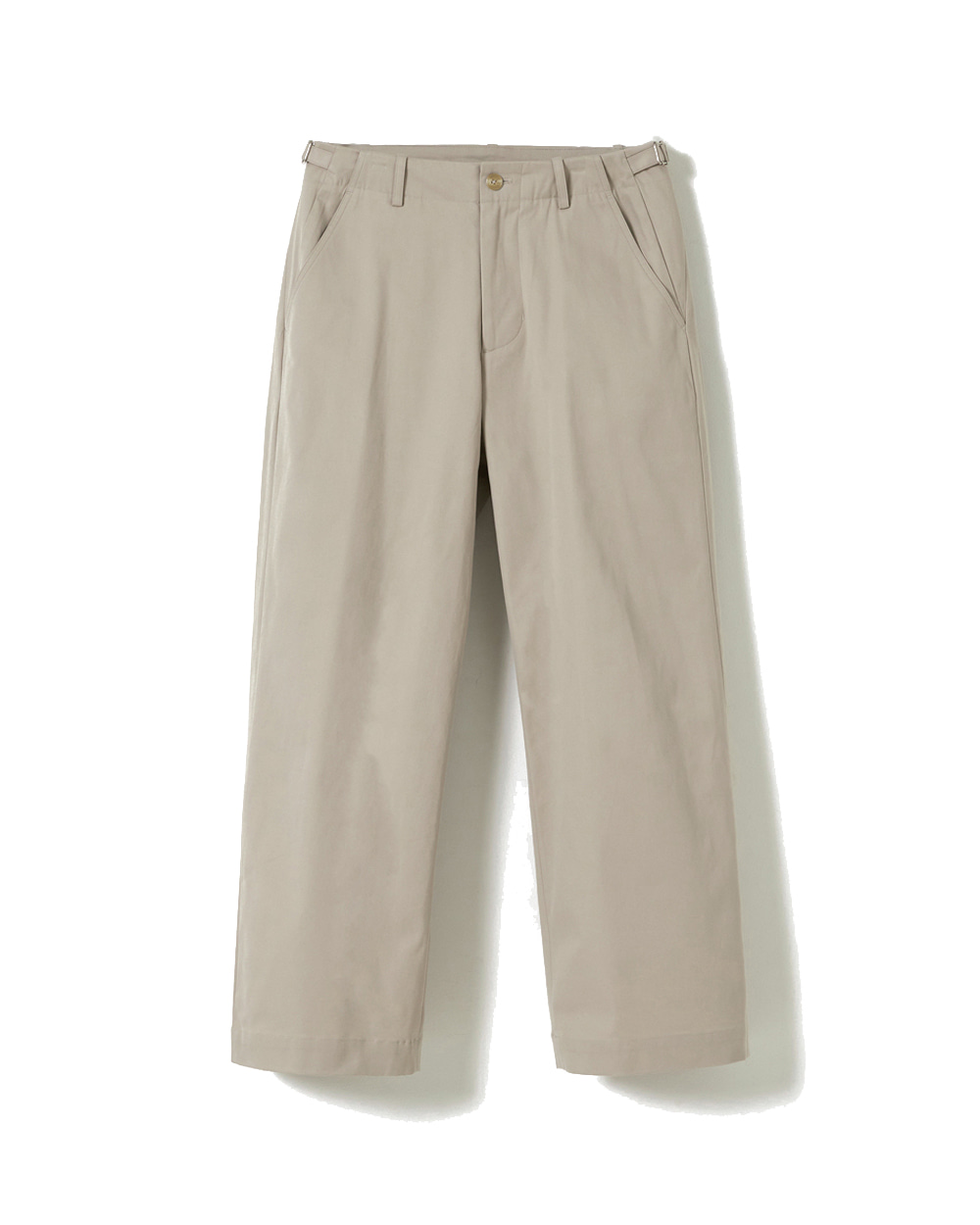 유스 Wide Chino Pants (Stone)