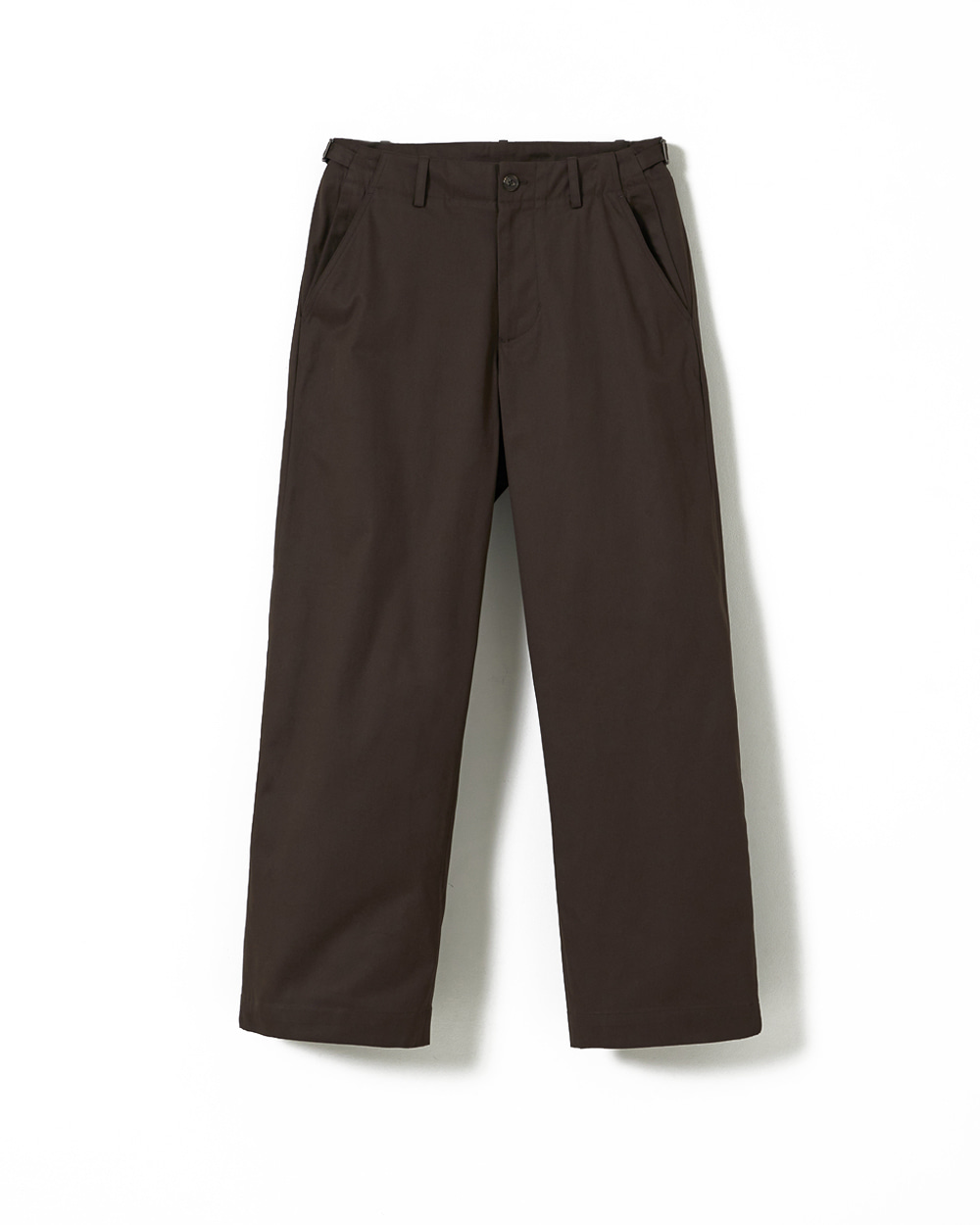 유스 Wide Chino Pants (Brown)