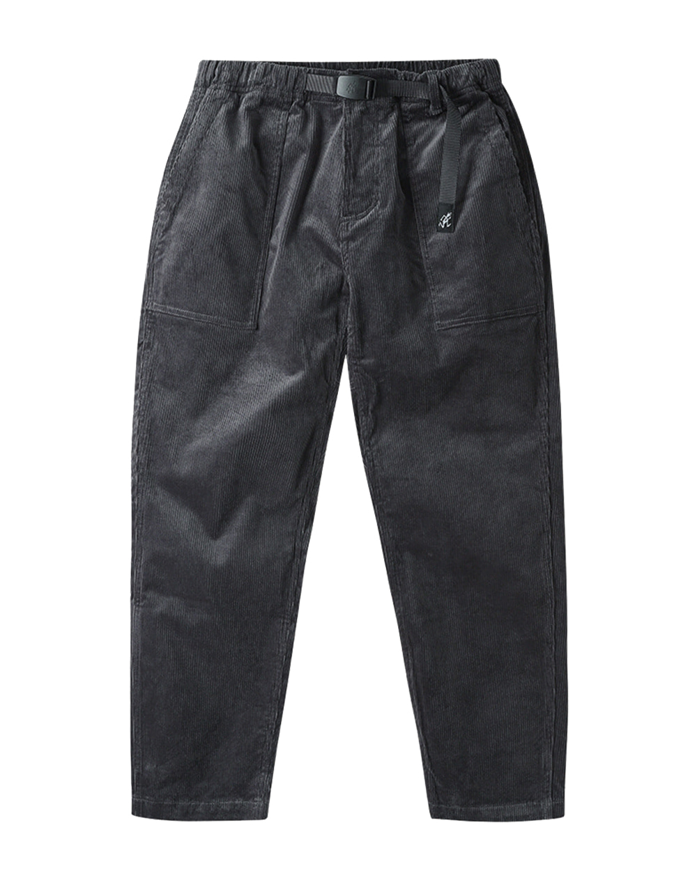 그라미치 CORDUROY LOOSE TAPERED PANTS (Charcoal)