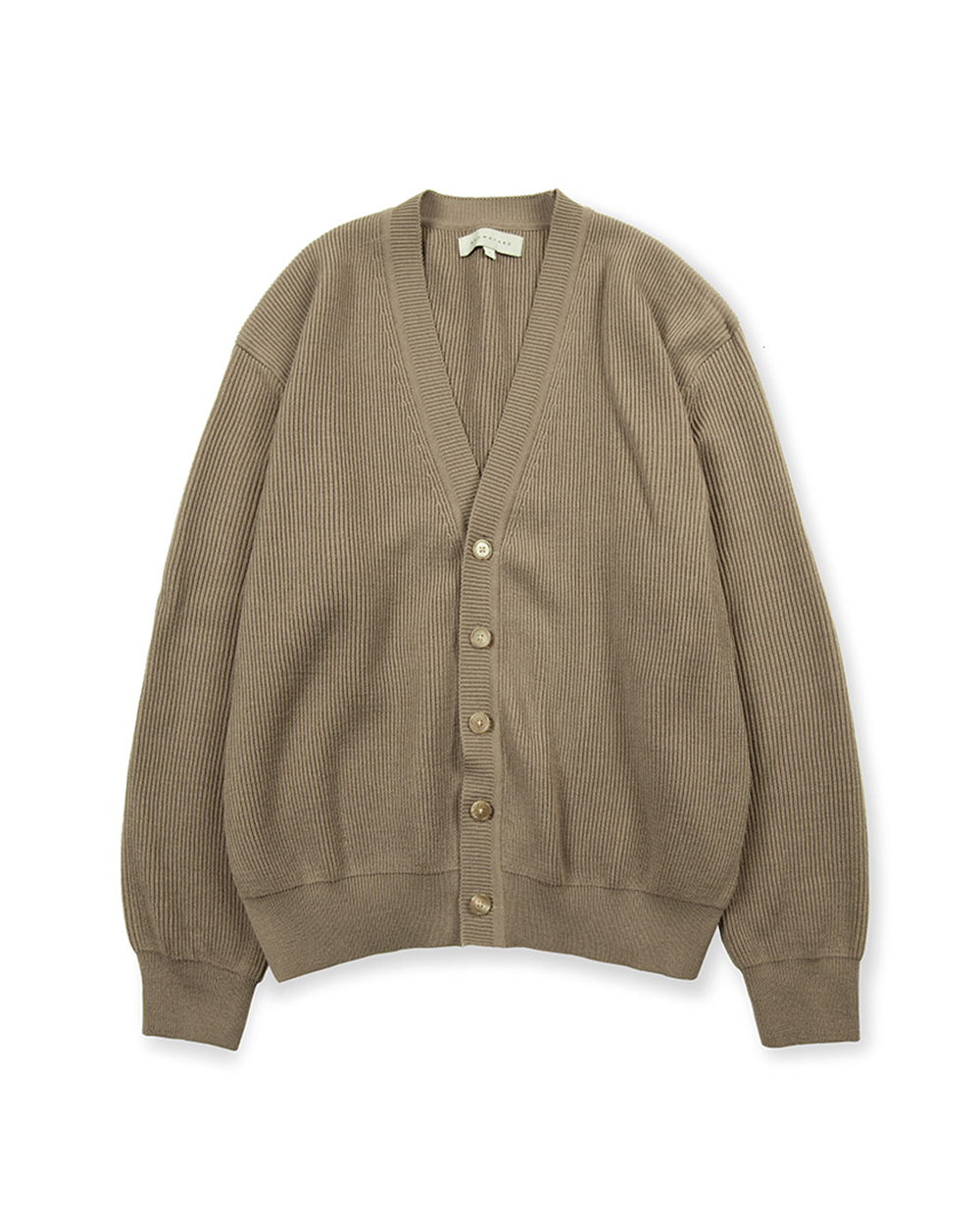 브라운야드 ESSENTIAL CARDIGAN (Dark beige)