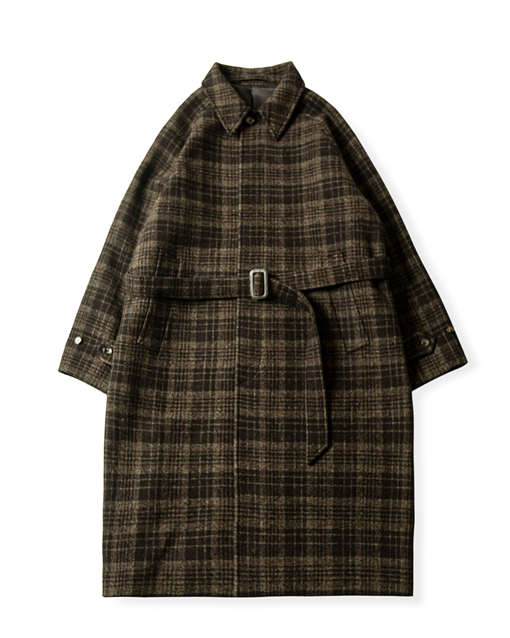 브라운야드 BALMACAAN COAT (Brown chek)