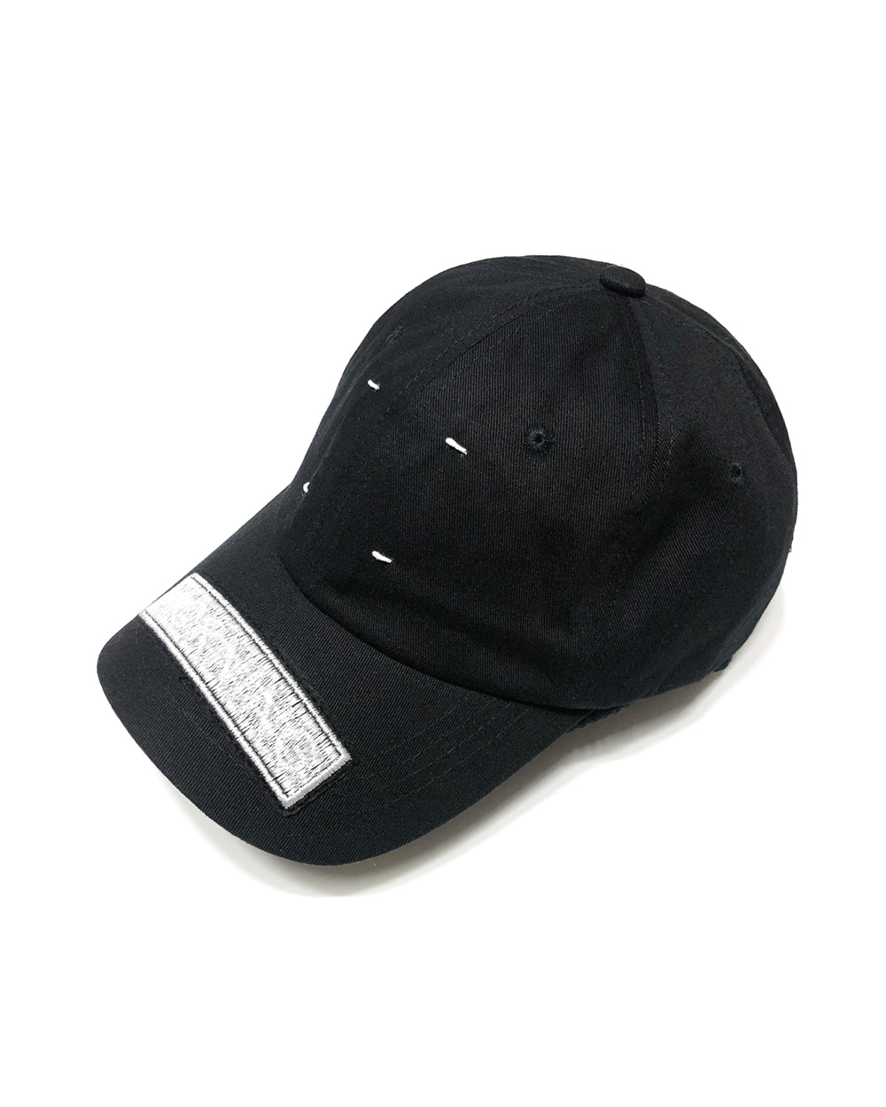 GOOD NEWS HAND STITCH ZIPPER CAP (White)