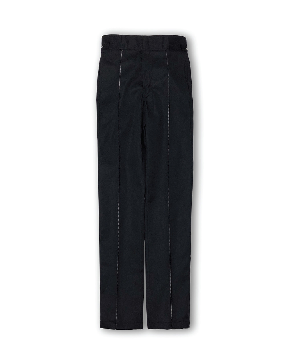 GOOD NEWS  SLIM FIT PINTUCK PANTS (Black)