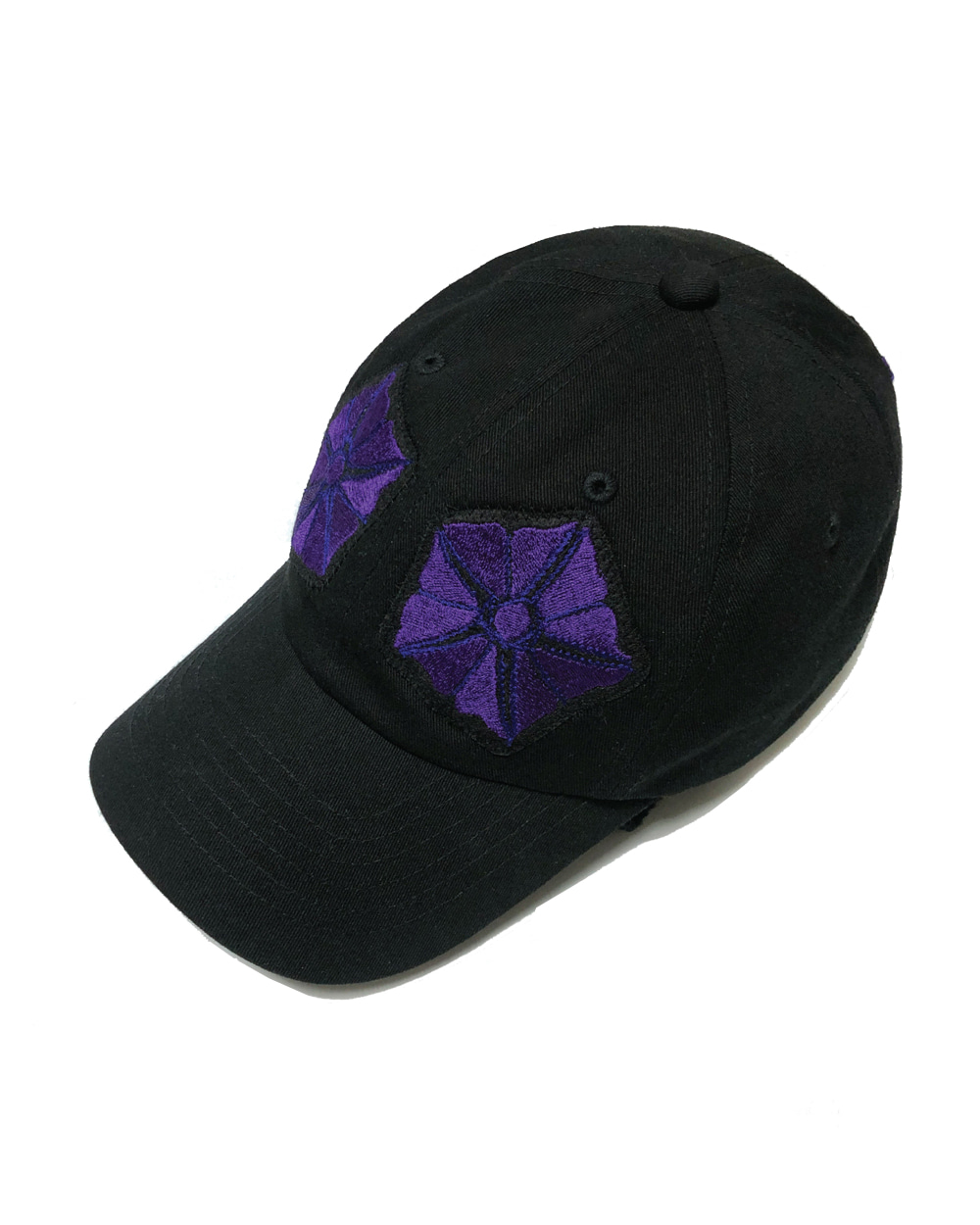 GOOD NEWS MORNING GLORY ZIPPER CAP (Black)