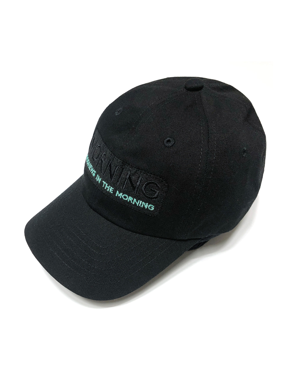 GOOD NEWS  MORNING ZIPPER CAP (Black)
