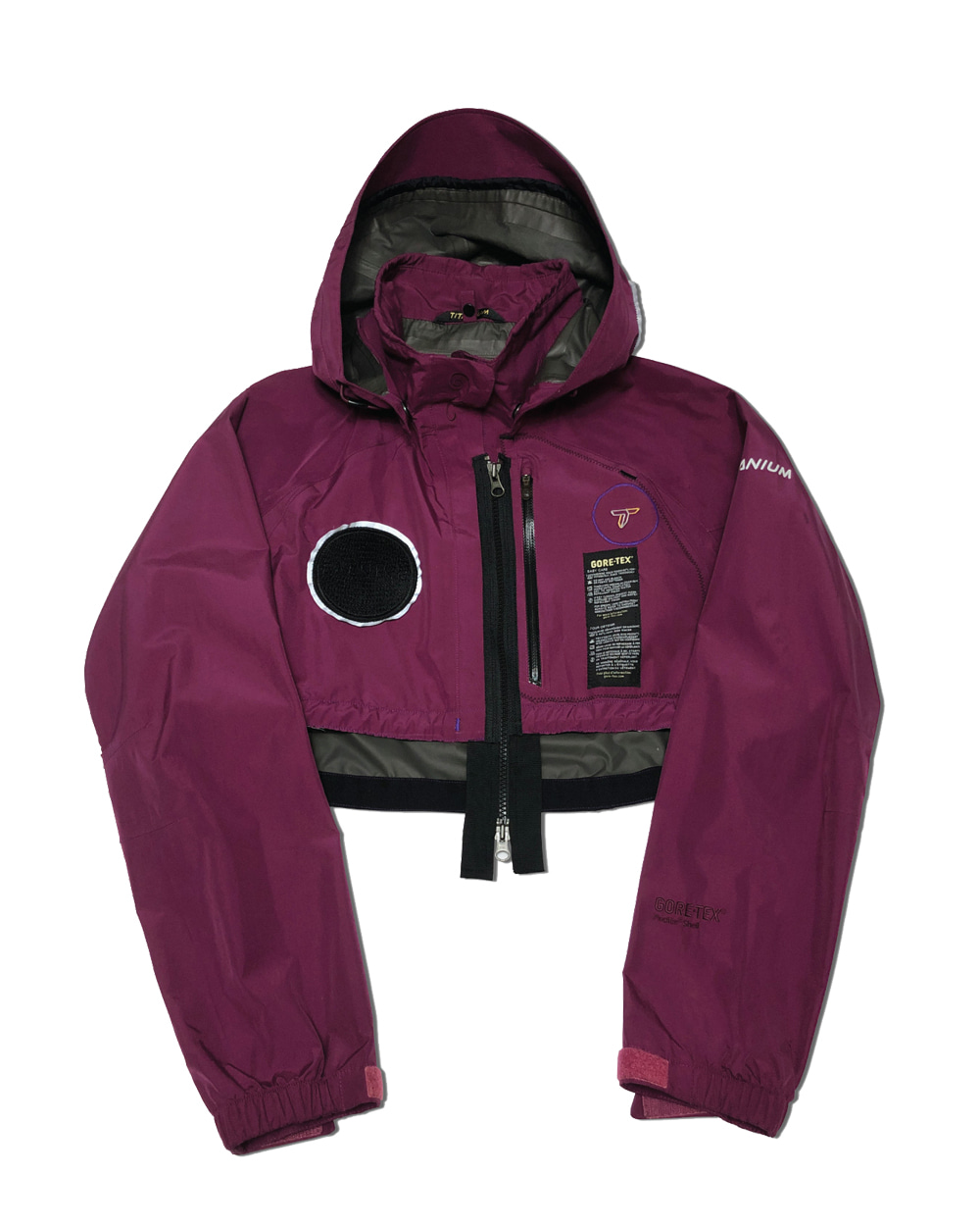 GOOD NEWS OUTDOOR CROP JACKET (Purple)