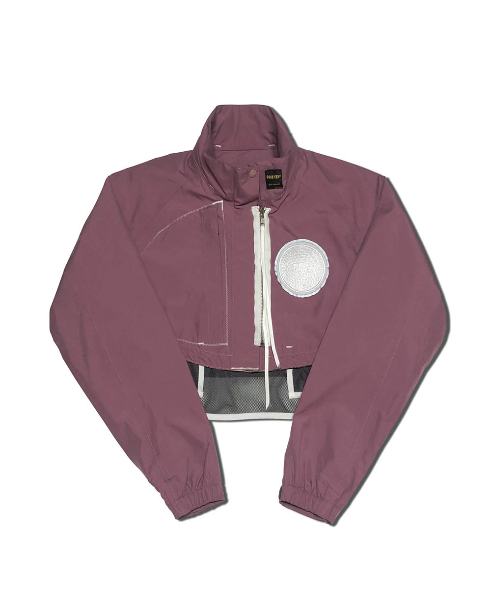 GOOD NEWS OUTDOOR CROP JACKET (Pink)