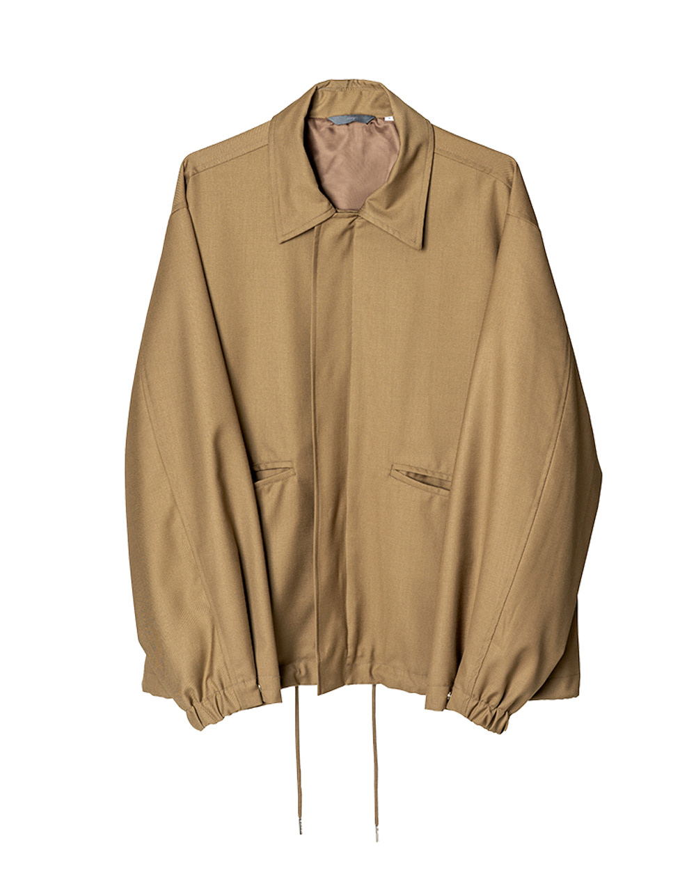 노우트 Over Blouson (Beige)